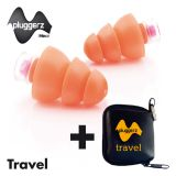 Pluggerz Ear Plugs for Travel